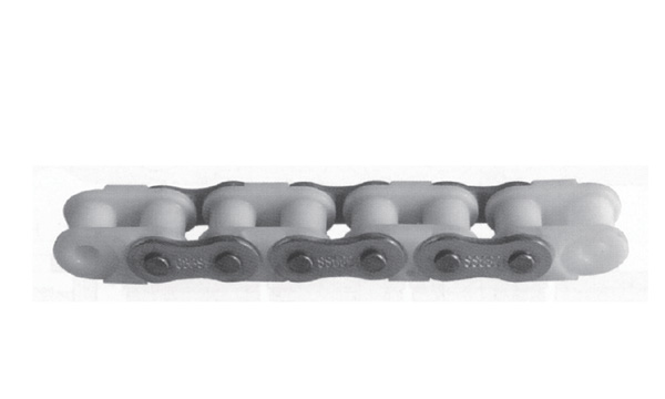 Combination stainless steel engineering plastic chains